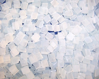 Mini Frosted Tumbled Stained Glass Mosaic Tiles