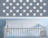 Twinkle Little Star Wall Sticker Decal - Vinyl Star Wall Decal Set - Nursery Wall Decor - HWL183