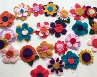 CORA felt flower garland