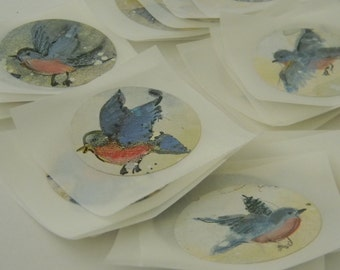 Birdies stickers/seals