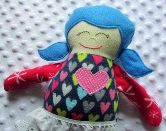 Daisy Small Handmade Fabric Baby Doll