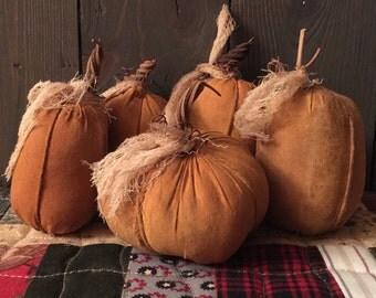 Primitive Miniature Pumpkins