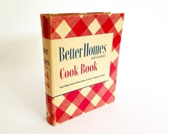 1951 Better Homes and Gardens Cook Book - Deluxe Edition