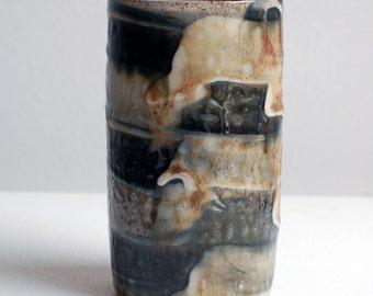 ash stripe vase