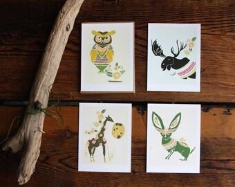 Creature Card Set