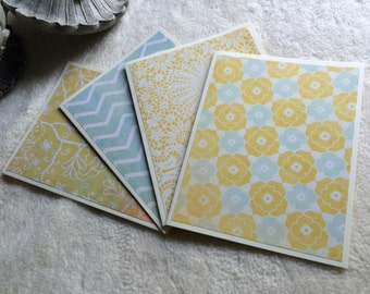 Note Cards...4 Piece Set of Very Beautiful Sweetest Things Blank Note Cards