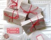 Vintage Small Glassine Envelopes, 50 Fabulous Envelopes for Junk Journals, Altered Art, Scrap Booking