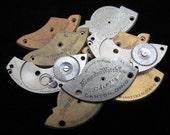Destash Steampunk Watch Clock Parts Movements Plates Art Grab Bag RP 100