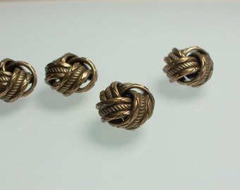 1pc Vintage Love Knot Jewelry Bead Antiqued Bronze Plated Brass Imprinted Connector Link Fancy Findings Jewelry Jewellery Craft Supplies