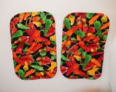 chilli pepper magnetic microwave mitts spice up your kitchen