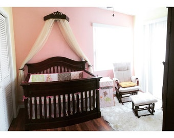 Bed tester crown in Duchess style,  perfect for your princess