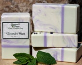 Lavender Mint Handmade  Cold Process Soap
