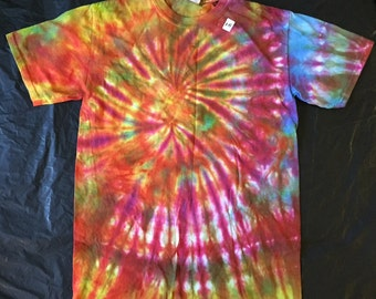 Tie Dye T-Shirt ADULT SMALL Sale