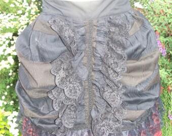 Victorian Style Overskirt Bustle.