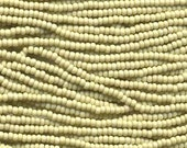 Czech Seed Beads 6/0 Solgel Lt Olive Green 31625 , Glass Seed Beads, Size 6/0 Seed Beads, Jablonex Seed Beads