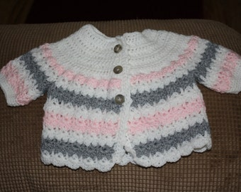 0-3 Month Baby Girl Sweater