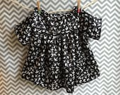 Girls Modern Tunic Blouse  Size 3T