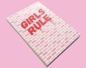 Girls Rule Notepad