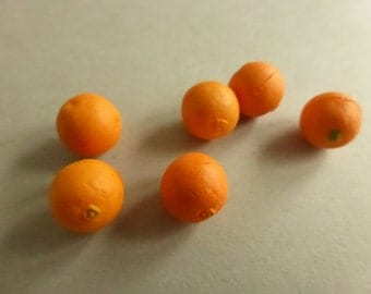 Vintage Miniature Oranges 6)