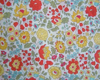 Liberty of London tana lawn fabric  D'Anjo 6x26""
