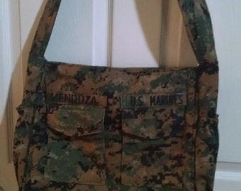 Sale: use 15Off coupon to get 15% off.  USMC MARPAT Woodland Diaper Bag, Messenger Bag or Laptop Bag
