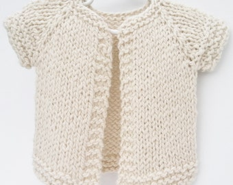 Baby Sweater: Supersoft Handknit Heirloom