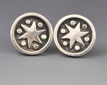 Star Stud Post Earrings