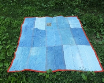 Picnic Blanket, Table Cloth, Beach Blanket, Crispina, Festival Blanket
