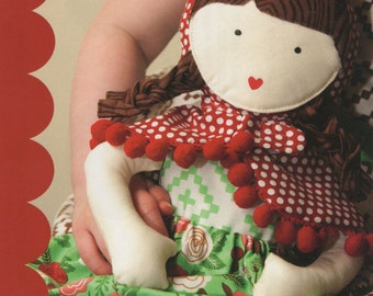 Clearance PATTERN Little Red Riding Hood ROSE RED Woodland Doll