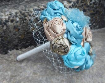 Mint & Gilt Bouquet