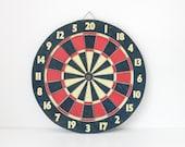 vintage cork dartboard | inspiration board