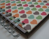 Kid Quote Journal with Multi-Color Heart Cover