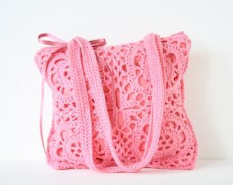 Crochet handbag Paola