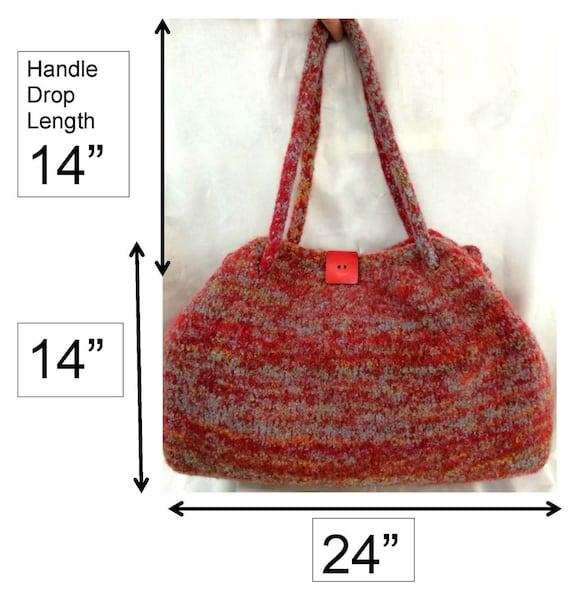 Weekender Bag Knitting Pattern : Pattern: Weekend Bag - A Knitting and Felting Pattern from kateinoregon on Et...