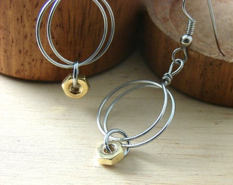 Wire Hoop Earrings Hardware Jewelry