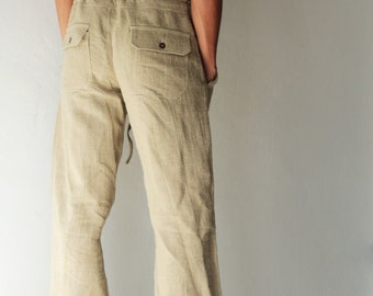 Men's 100 percent hemp pants [P 1434]