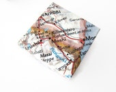 Origami Gift Boxes - Regular or Mini Size - Recycled Maps