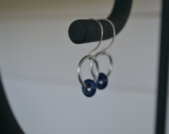 Lapis Ring Earrings
