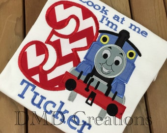 Thomas The train Applique Shirt