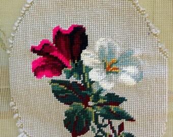 Prefinished Needlepoint Piece Panel