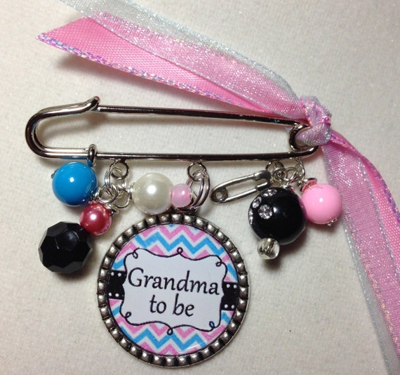 Baby Shower Gifts For Grandma ~ Grandma to be pin personalized baby shower gift grandmother