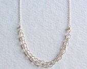 Sterling Silver Chain Necklace - Everyday Jewelry - Classic Silver Necklace