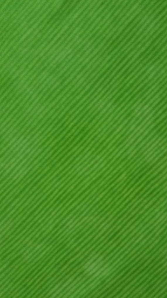 Fussy cut bright green stripe novelty fabric 100 by for Bright childrens fabric