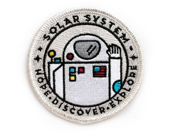 Astronaut Space Explorer's Patch - Made in USA