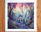 Crystal Cascades - Print