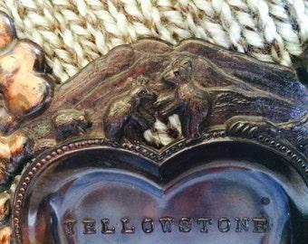 Yellowstone National Park Souvenir Ashtray