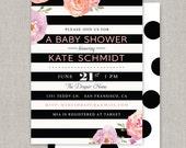 Kate Baby or Bridal Shower Invitation