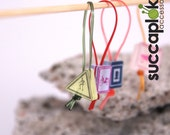 Liikennemercci (road sign) - Knitting Stitch Markers, Place Markers