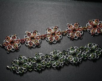 Celtic Star Chain Maille Bracelet