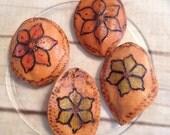 Organic Fair Trade 4 gourd beads
